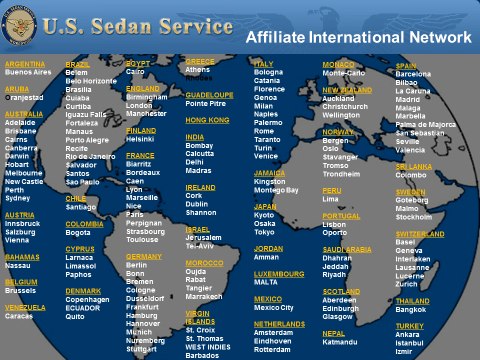 US Sedan Service Global Affiliate Network